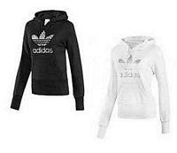 adidas-trefoil-hoody-damen-weiss-schwarz